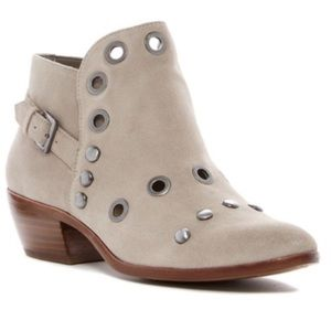 NWT Sam Edelman Grommet Ankle Boots